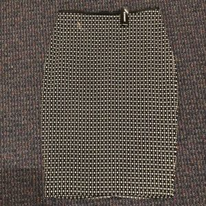 Express fitted, midi pencil skirt! New with tag!